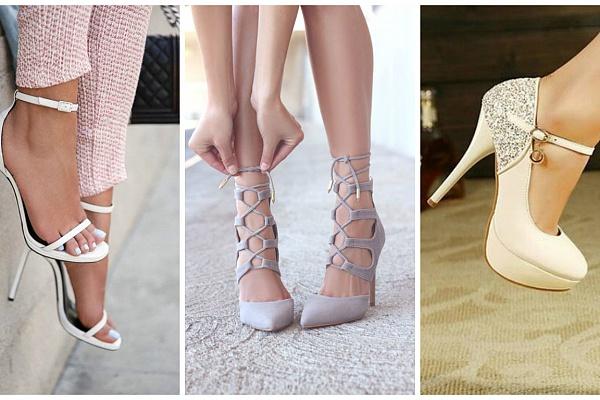 Оригинальные туфли на каблуке