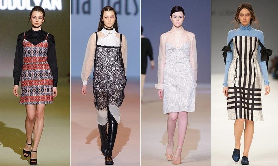 0acccb993d0 Платья на зиму 2019 . Модные тенденции . Фото