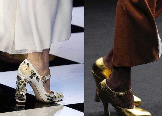 Туфли с интересными узорами