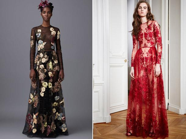 Восхитительные полупрозрачные платья