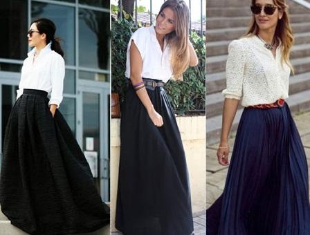 Рубашки с юбками