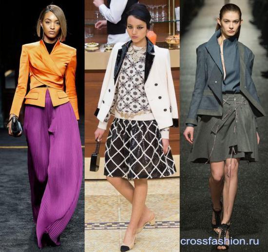 307a54a8d344 Женские пиджаки и жакеты 2019 - фото, модные новинки