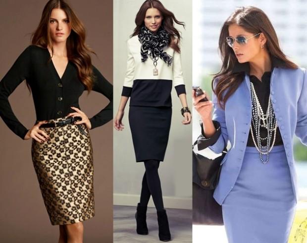 Модные принты для делового образа