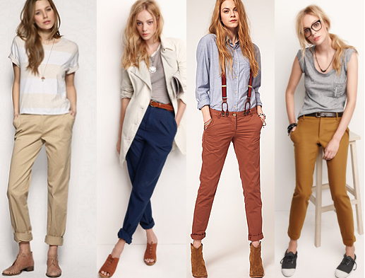 С чем носить брюки