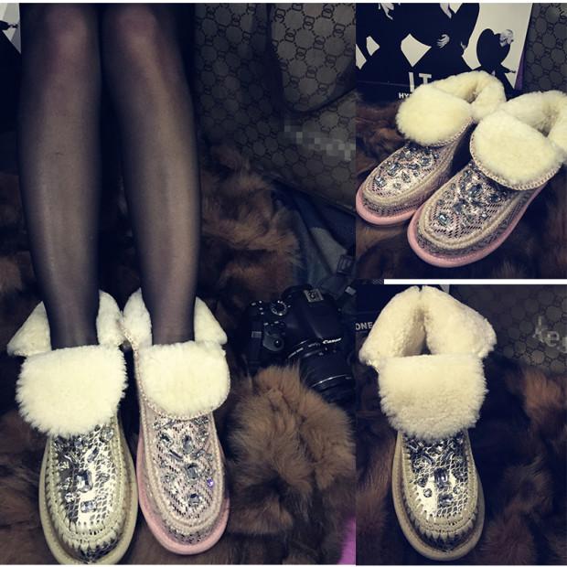 Декорированная обувь