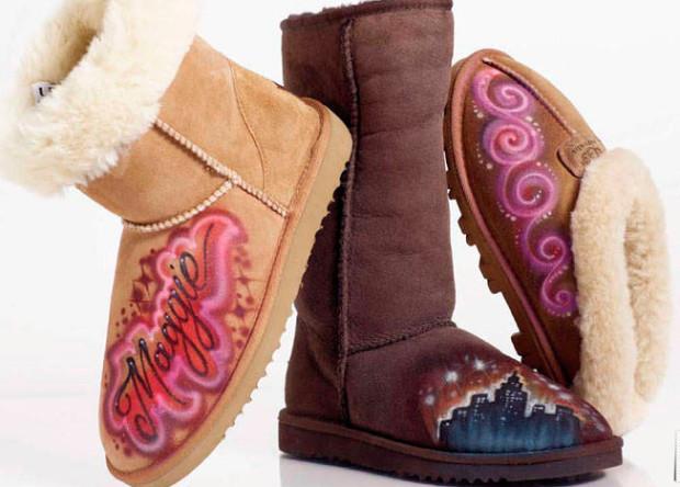 Обувь с декором