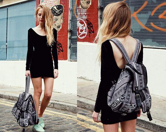 Вместительные рюкзаки