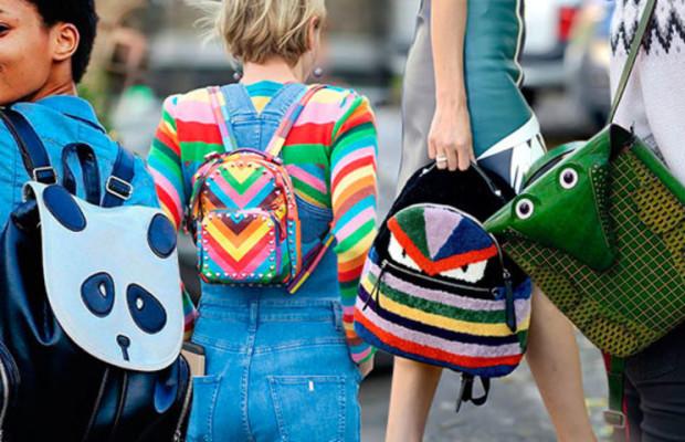 Рюкзаки с узорами