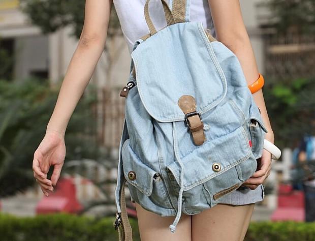 Джинсовые рюкзаки