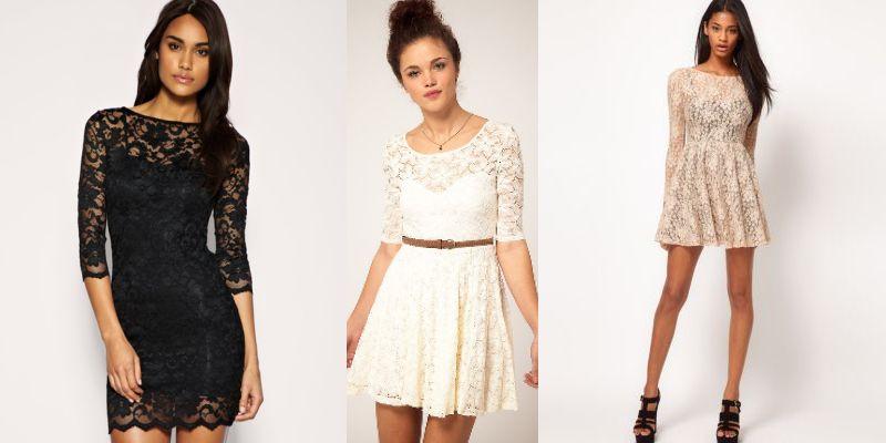 f61b20a344d8fe7 Кружевные платья : фото модных тенденций