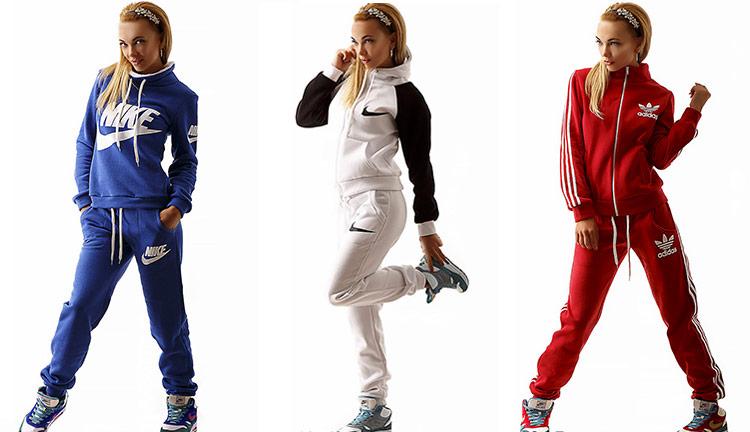 db16d08ab375 Спортивные костюмы женские 2019 - фото, новые тренды