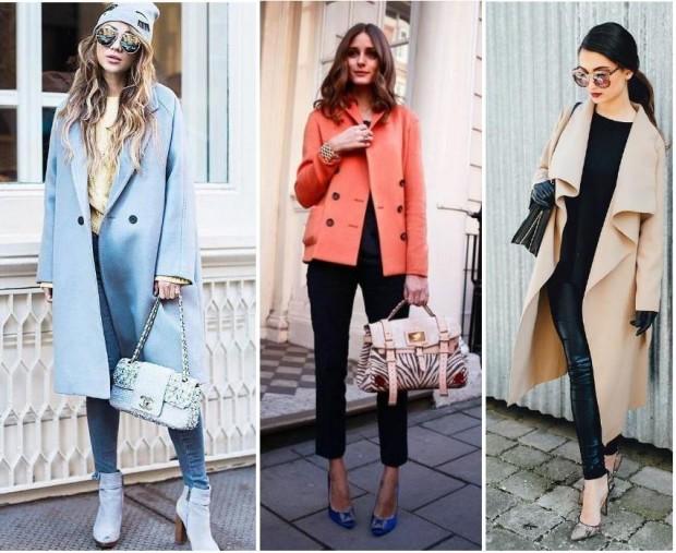Прямые пальто