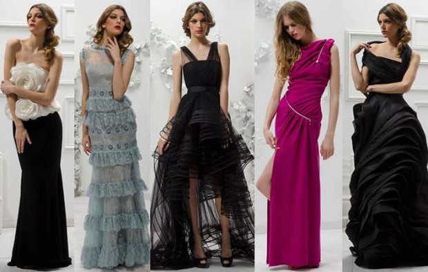 Модные платья на Новый год