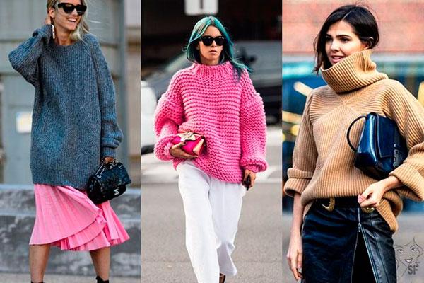 Модные свитера