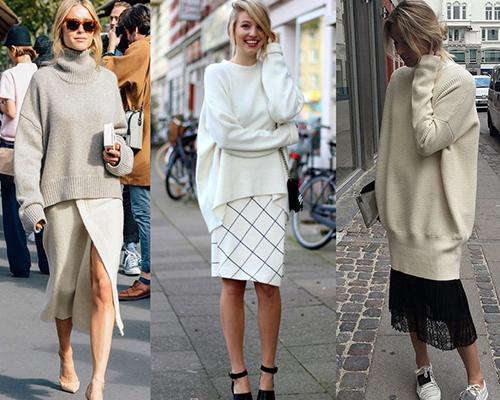 Объемные свитера