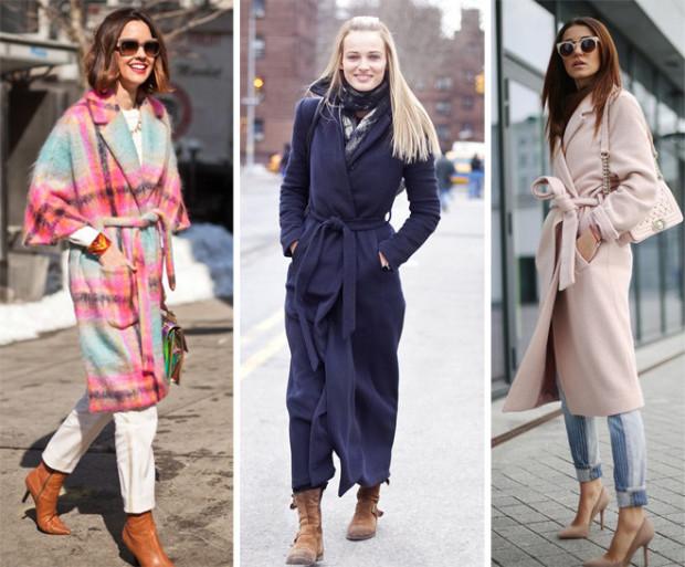 Пальто-халаты