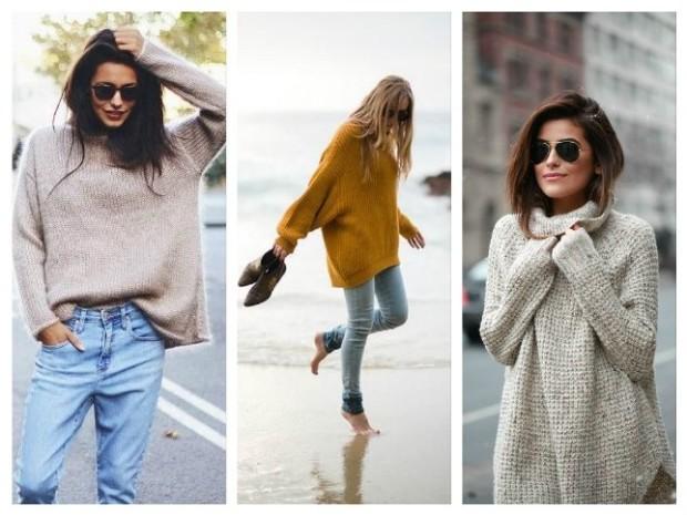 Свободные свитера